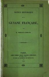 Notice historique sur la Guyane française