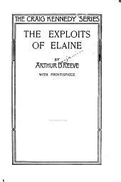 The exploits of Elaine: Volume 9
