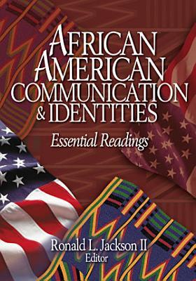 African American Communication   Identities PDF