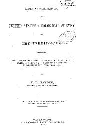 1st -12th Annual Report of the United States Geological and Geographical Survey of the Territories ...