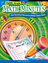Math Minutes, 8th Grade, eBook: One Hundred Minutes to Better Basic Skills