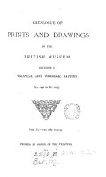 Catalogue of prints and drawings in the British museum  Division 1  Political and personal satires PDF