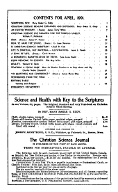 The Christian Science Journal: Volume 19