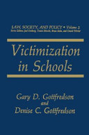 Victimization in Schools PDF