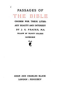 Passages of the Bible PDF