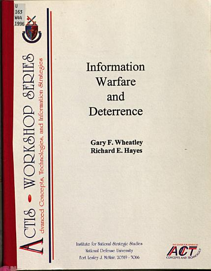 Information Warfare and Deterrence PDF
