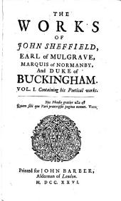 The works of John Sheffield