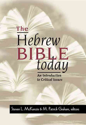 The Hebrew Bible Today PDF