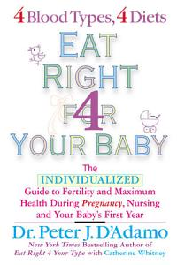 Eat Right for Your Baby Book