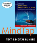 Effective Human Relations   LMS Integrated for Mindtap Management  1 term Access PDF