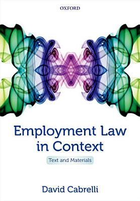 Employment Law in Context PDF