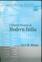 Cultural History of Modern India PDF
