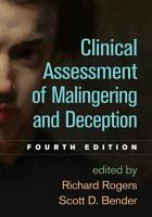 Clinical Assessment of Malingering and Deception  Fourth Edition PDF