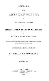 Annals of the American Pulpit: Presbyterian. 1859