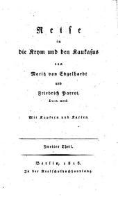 Reise in die Krym un den Kaukasus, von M. von Engelhardt und F. Parrot: Band 2