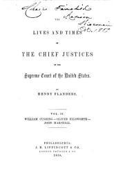 William Cushing. Oliver Ellsworth. John Marshall