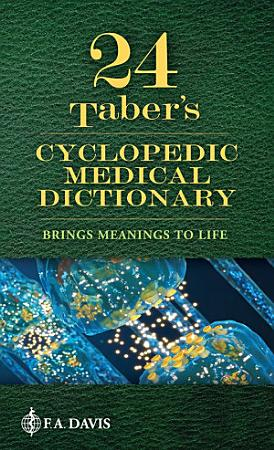 Taber s Cyclopedic Medical Dictionary PDF