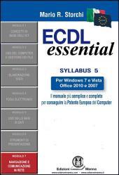 ECDL Essential – Modulo 7 – Navigazione Web e Comunicazione