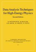 Data Analysis Techniques for High Energy Physics Experiments