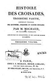 Histoire des croisades: Volume3