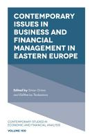 Contemporary Issues in Business and Financial Management in Eastern Europe PDF