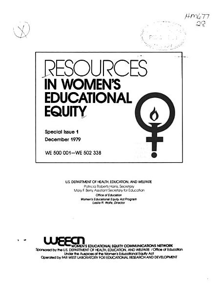 Resources in Women s Educational Equity PDF