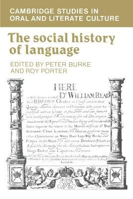 The Social History of Language PDF