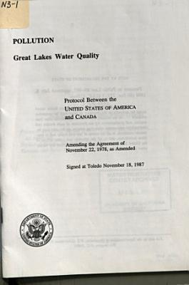 Pollution  Great Lakes Water Quality