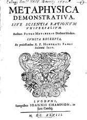 Metaphysica Demonstrativa, Sive Scientia Rationum Universalium