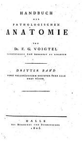 Handbuch der pathologischen Anatomie: Band 3