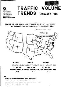Traffic Volume Trends PDF