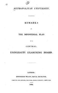 Metropolitan University PDF