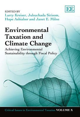 Environmental Taxation and Climate Change PDF