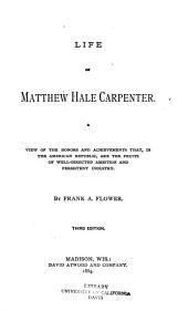 Life of Matthew Hale Carpenter