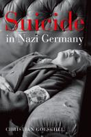 Suicide in Nazi Germany PDF