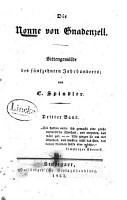 Die Nonne von Gnadenzell PDF