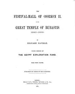 Memoir of the Egypt Exploration Society PDF