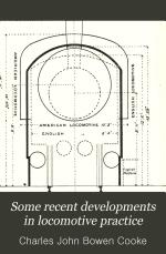 Some Recent Developments in Locomotive Practice