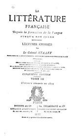 La littérature franc̜aise depuis la formation de la langue jusqu'à nos jours: Auteurs vivants en 1870