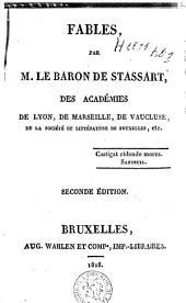 Fables par M. le baron de Stassart