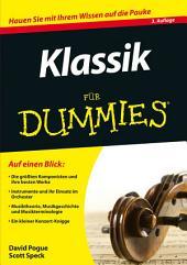Klassik für Dummies: Ausgabe 3