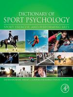 Dictionary of Sport Psychology PDF