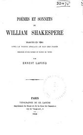 Poëmes et sonnets de William Shakespere
