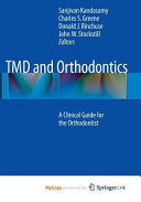 TMD and Orthodontics PDF