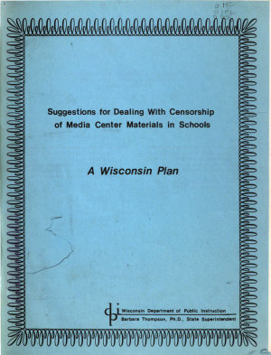 Suggestions for Dealing with Censorship of Media Center Materials in Schools PDF