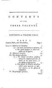 Elements of natural history and chemistry: Volume 1