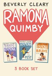 Ramona 3-Book Collection: Ramona the Pest, Beezus and Ramona, Ramona the Brave