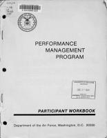 Performance Management Program PDF
