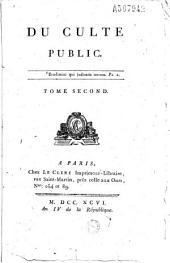 Du Culte public... [par G. J. A. J. Jauffret]