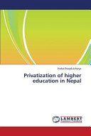 Privatization of Higher Education in Nepal
